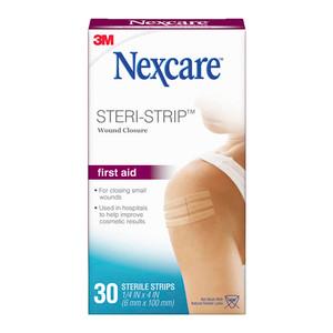 Nexcare Steri-Strip H1546 Wound Closure 6x100mm Pack of 30