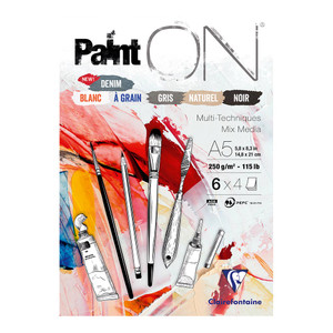 PaintON Pad Assorted A5 24sh