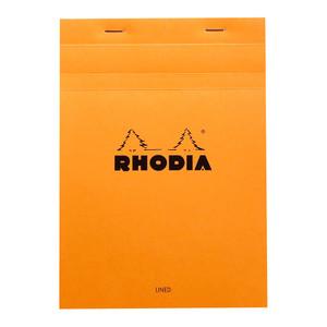 Rhodia Bloc Pad No. 16 A5 Lined Orange