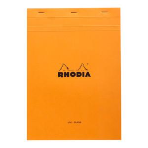 Rhodia Bloc Pad No. 18 A4 Blank Orange