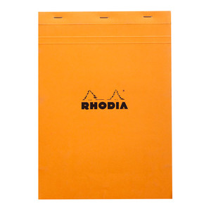 Rhodia Bloc Pad No. 18 A4 Grid Orange