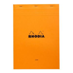 Rhodia Bloc Pad No. 18 A4 Lined Orange