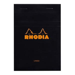 Rhodia Bloc Pad No. 13 A6 Lined Black