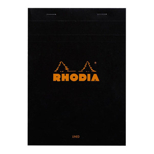 Rhodia Bloc Pad No. 16 A5 Lined Black