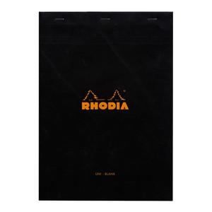 Rhodia Bloc Pad No. 18 A4 Blank Black