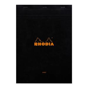 Rhodia Bloc Pad No. 18 A4 Lined Black
