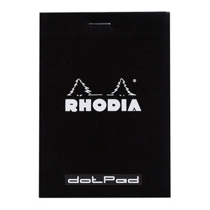 Rhodia dotPad No. 12 85x120mm Black