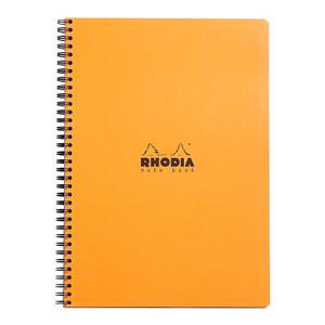 Rhodia Classic Notebook Spiral A4+ Grid Orange