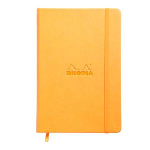 Rhodia Webnotebook A5 Dotted Orange