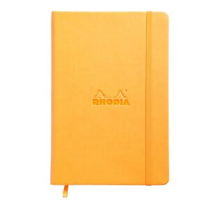 Rhodia Webnotebook A5 Lined Orange