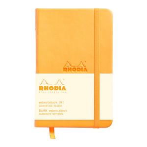 Rhodia Webnotebook Pocket Blank Orange