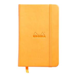 Rhodia Webnotebook Pocket Lined Orange
