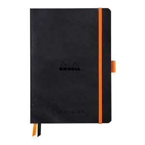 Rhodiarama Goalbook A5 Dotted Black