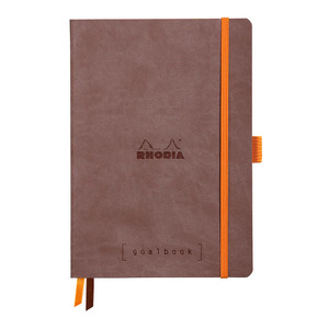 Rhodiarama Goalbook A5 Dotted Chocolate