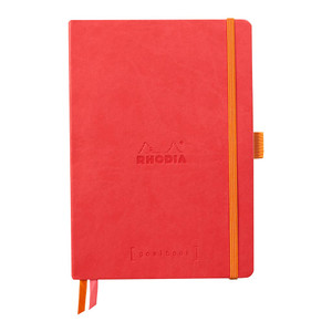 Rhodiarama Goalbook A5 Dotted Coral