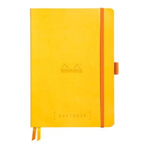 Rhodiarama Goalbook A5 Dotted Daffodil