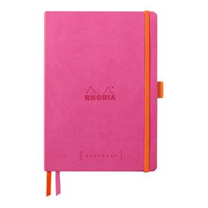 Rhodiarama Goalbook A5 Dotted Fuchsia