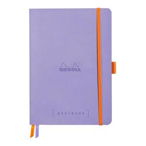 Rhodiarama Goalbook A5 Dotted Iris Blue