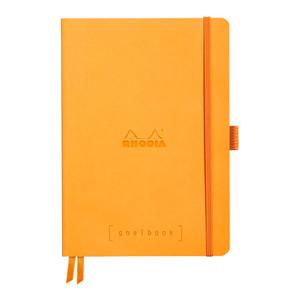 Rhodiarama Goalbook A5 Dotted Orange