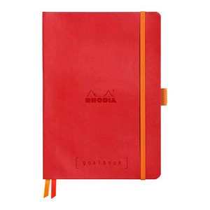Rhodiarama Goalbook A5 Dotted Poppy