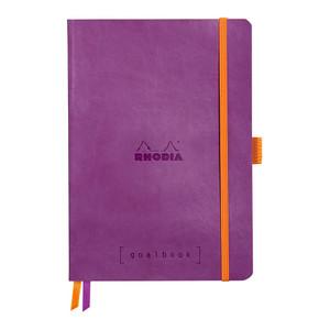 Rhodiarama Goalbook A5 Dotted Purple