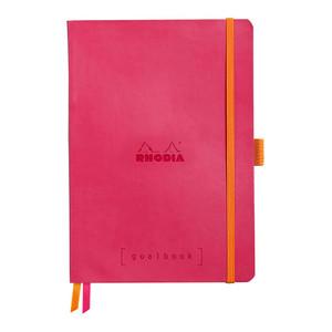 Rhodiarama Goalbook A5 Dotted Raspberry