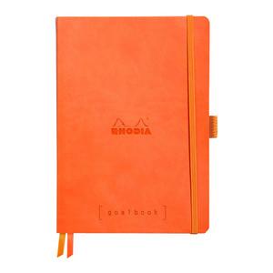 Rhodiarama Goalbook A5 Dotted Tangerine