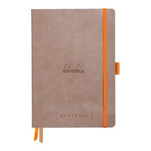Rhodiarama Goalbook A5 Dotted Taupe