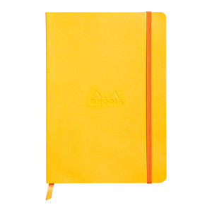 Rhodiarama Softcover Notebook A5 Lined Daffodil