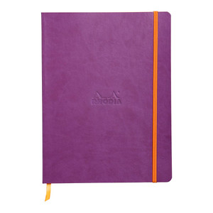 Rhodiarama Softcover Notebook B5 Dotted Purple