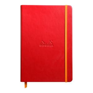 Rhodiarama Hardcover Notebook A5 Lined Poppy