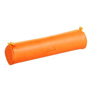 Rhodiarama Pencil Case Round Tangerine