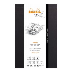Rhodia Touch Maya White Pad A4+ Cross n Dot