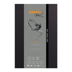 Rhodia Touch Maya Grey Pad A4+ Blank