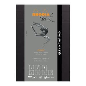 Rhodia Touch Maya Grey Pad A5 Blank