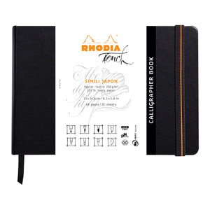 Rhodia Touch Calligrapher Book A5 Landscape Blank
