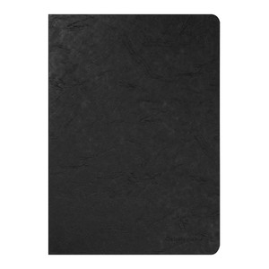 Age Bag Notebook A4 Lined Black