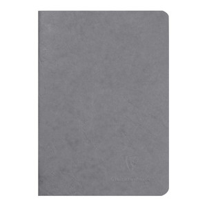 Age Bag Notebook A5 Lined Grey