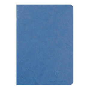 Age Bag Notebook A5 Blank Blue