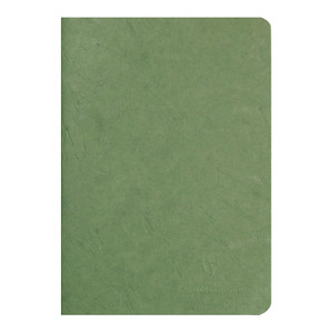 Age Bag Notebook A5 Blank Green