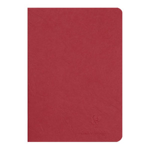 Age Bag Notebook A5 Blank Red