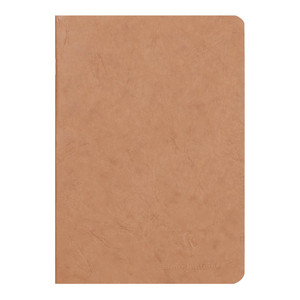 Age Bag Notebook A5 Blank Tobacco