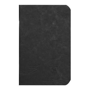 Age Bag Notebook Pocket Lined Black