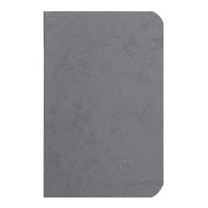 Age Bag Notebook Pocket Lined Grey