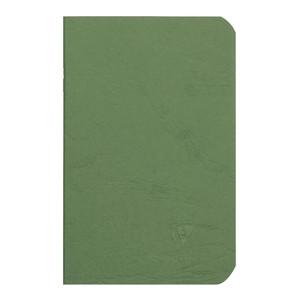 Age Bag Notebook Pocket Lined Green