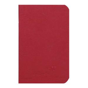 Age Bag Notebook Pocket Lined Red