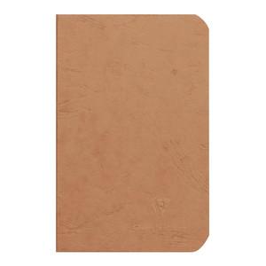 Age Bag Notebook Pocket Lined Tobacco