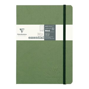 Age Bag My Essential Notebook A5 Dotted Green