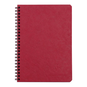 Age Bag Spiral Notebook A5 Lined Red