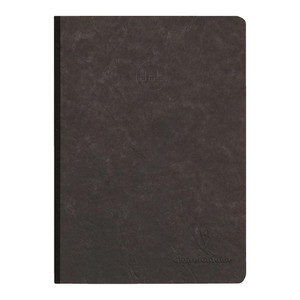 Age Bag Clothbound Notebook A5 Dotted Black